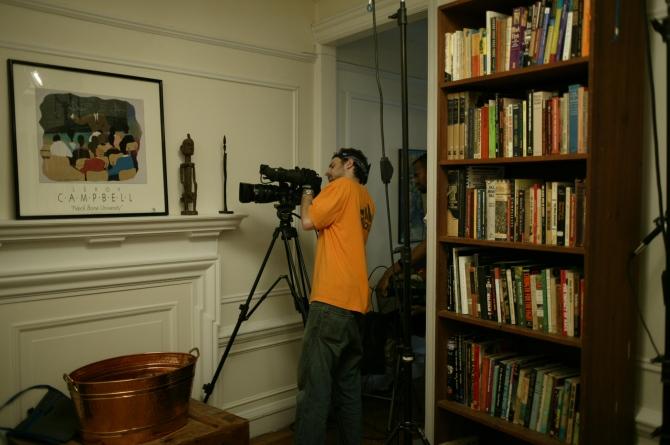 Director of Photography Nick Dewitt