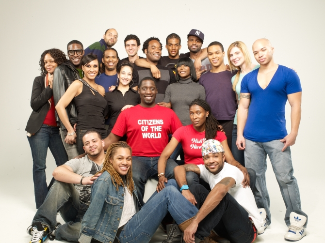 Some of the cast and crew of Finding Me:Truth
